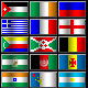 Country Pixel Flag Icons - GraphicRiver Item for Sale