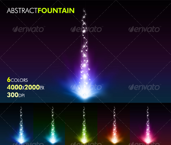 GraphicRiver Abstract Fountain 56698
