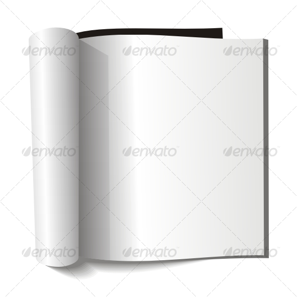 GraphicRiver Blank magazine Blank page 56731