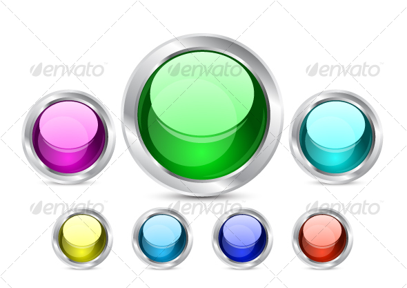 GraphicRiver Shiny buttons 56971
