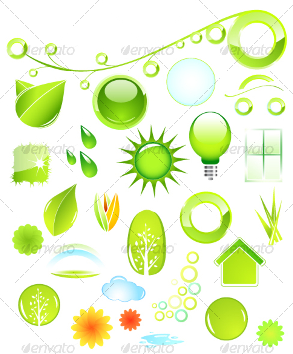 GraphicRiver Set of environmental icons 56972