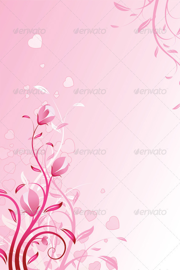 Graphic River Valentines Day Background Vectors -  Conceptual  Seasons/Holidays  Valentines 1440589