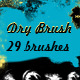 Dry Brush - Set of Brushes - GraphicRiver Item for Sale