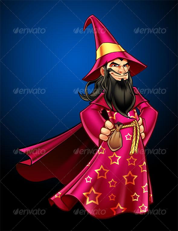 GraphicRiver Wizard 57156