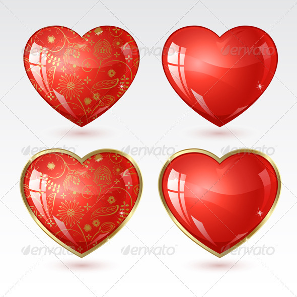 Graphic River Heart to the St.Valentine Vectors -  Conceptual  Seasons/Holidays  Valentines 1446067