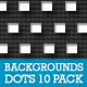 Dots Background 10 Pack - GraphicRiver Item for Sale
