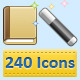 240 Web Icons - GraphicRiver Item for Sale