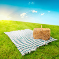Picnic blanket & basket - PhotoDune Item for Sale