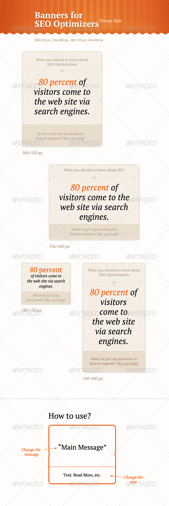 GraphicRiver SEO Banners 1454259