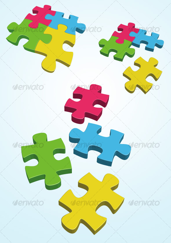 GraphicRiver Puzzle 33708