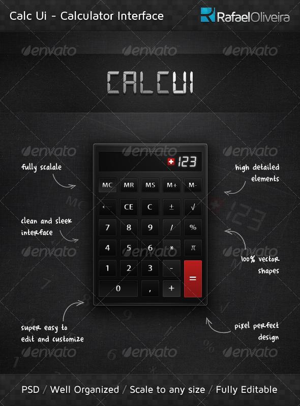 GraphicRiver Calc Ui 168632