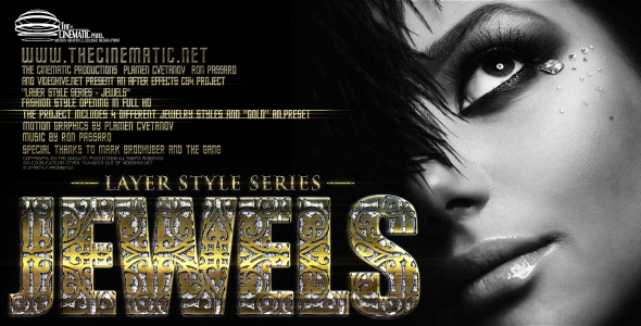 After Effects Project - VideoHive LS Series Jewels 172735