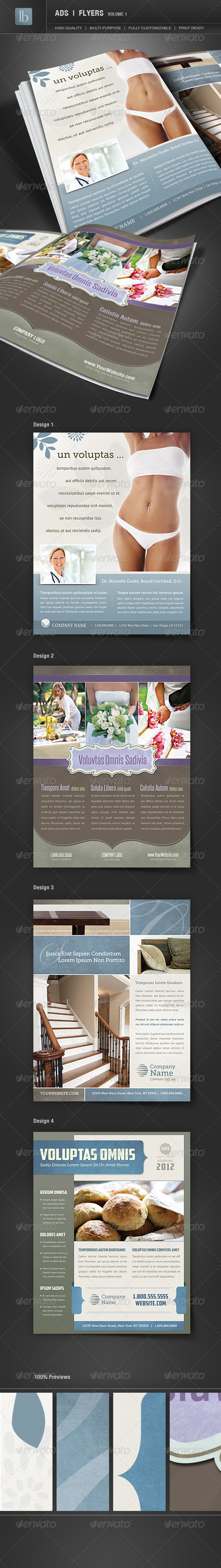 GraphicRiver Ads Business Flyers Volume 1 1182905