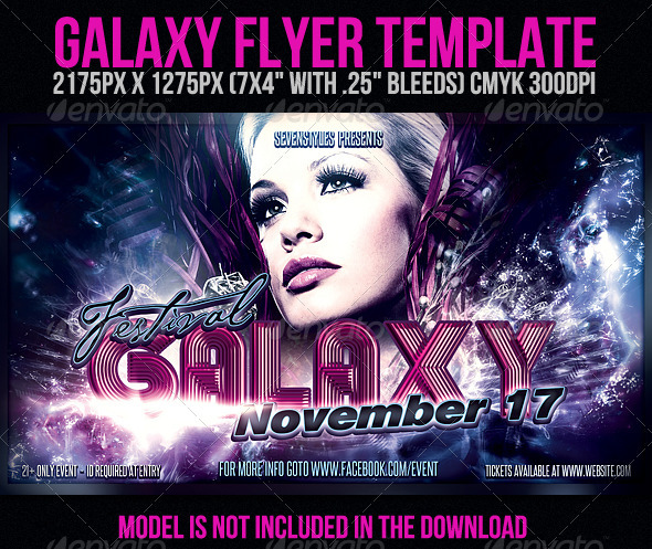GraphicRiver Galaxy Flyer Template 706979