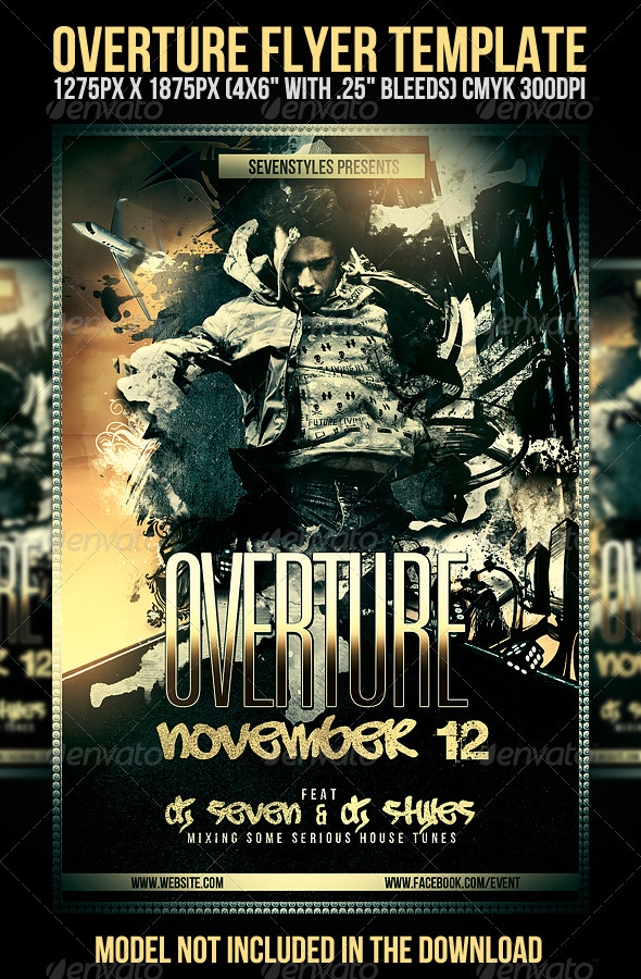 GraphicRiver Overture Flyer Template 574442