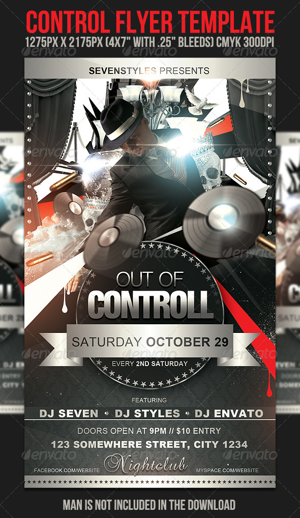 GraphicRiver Control Flyer Template 397428