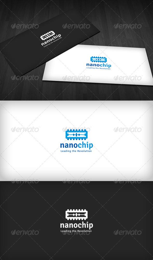 GraphicRiver Nanochip Logo 1458173