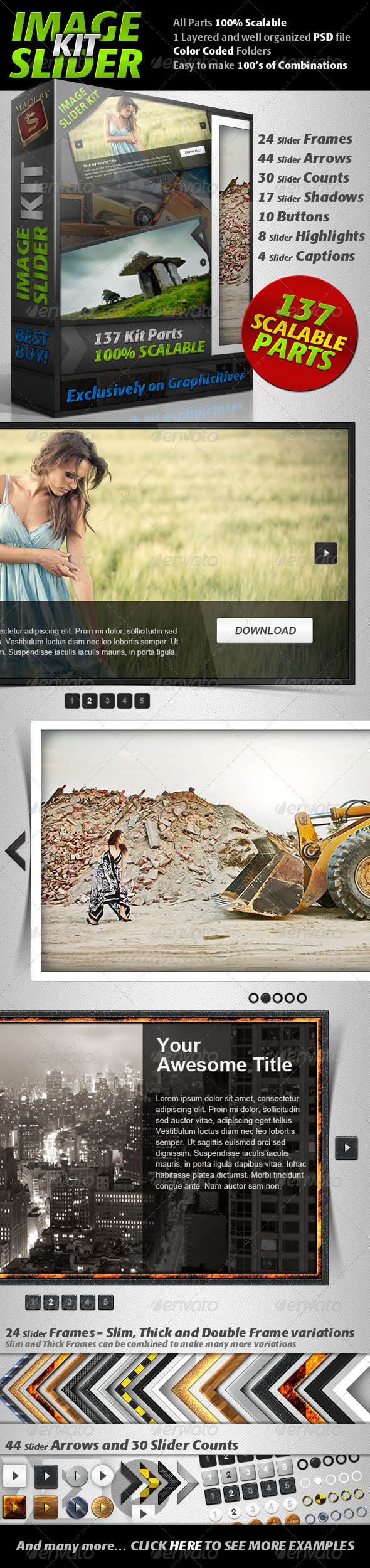 GraphicRiver Image Slider Kit 407080