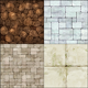 Fancy Anime Style Tileable Textures [Brick_Floors] - GraphicRiver Item for Sale