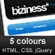 Biziness 2.0 - jQuery, HTML business template - ThemeForest Item for Sale