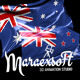 Silky Flag of Australia and New Zealand - VideoHive Item for Sale