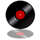 Vinyl record disk - GraphicRiver Item for Sale