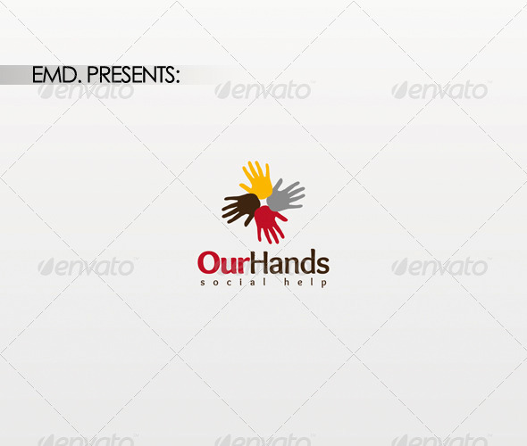 Graphic River Our Hands Logo Logo Templates -  Symbols 1465327