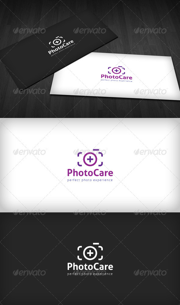 Graphic River Photo Care Logo Logo Templates -  Symbols 1468661