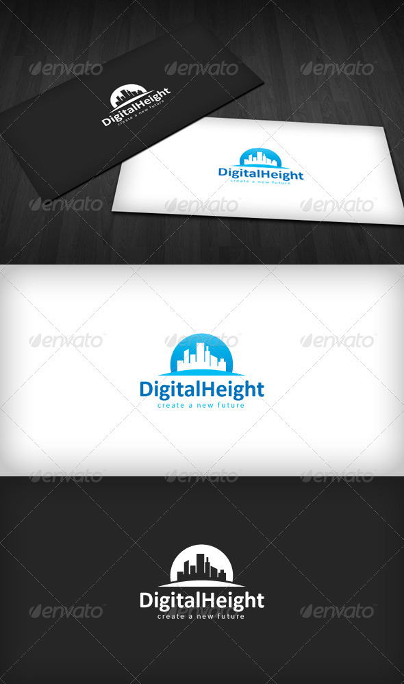 GraphicRiver Digital Height Logo 1473024