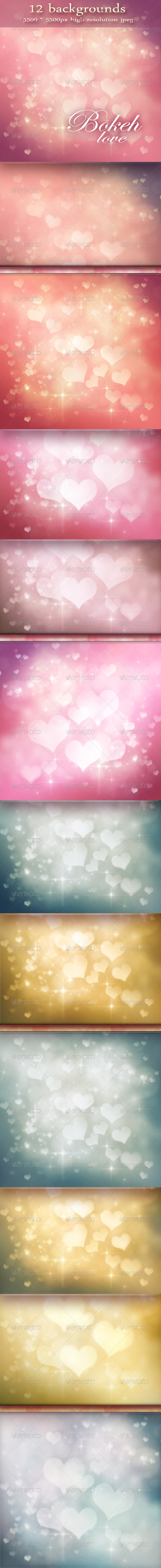 Graphic River Festive Bokeh Backgrounds Valentine s Day Graphics -  Backgrounds 1474916