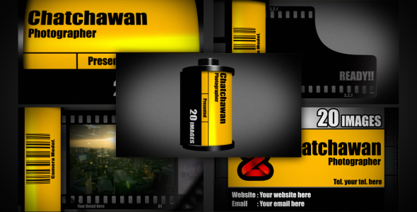 After Effects Project - VideoHive Film slideshow 174843