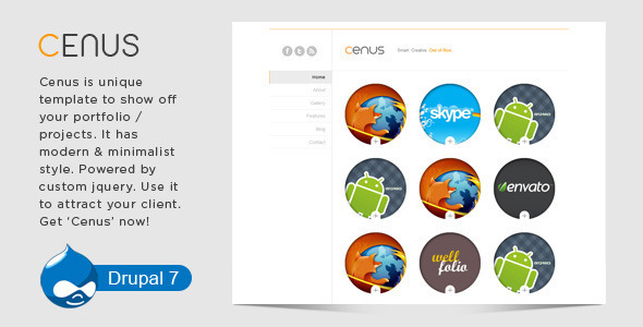 Spotlight - Clean & Minimal Drupal Theme - 1