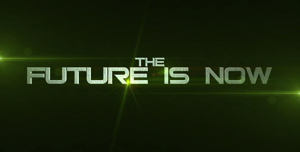 After Effects Project - VideoHive The Future Is Now 1483264