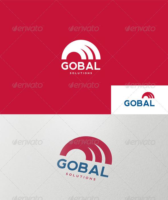 Graphic River Abstract Semicircle Logo Logo Templates -  Abstract 1488875