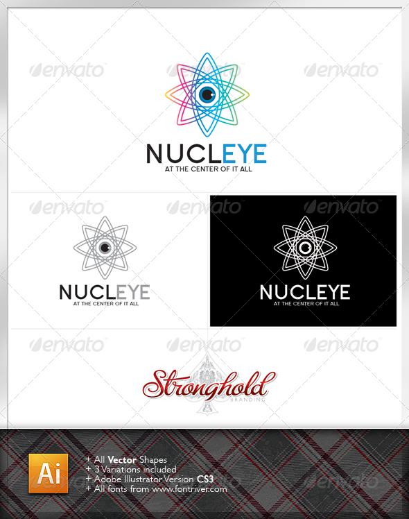 Graphic River Nucleus Logo Logo Templates -  Symbols 1489587