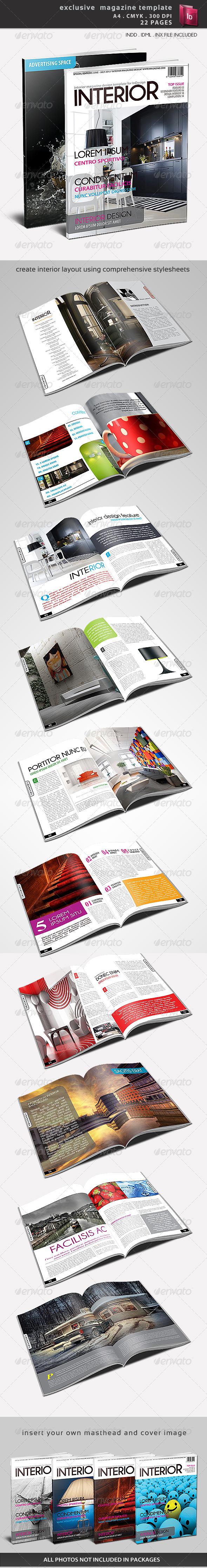 GraphicRiver Exclusive Magazine Template 1490266