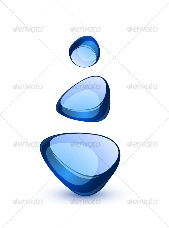 GraphicRiver Abstract glass shapes 58467