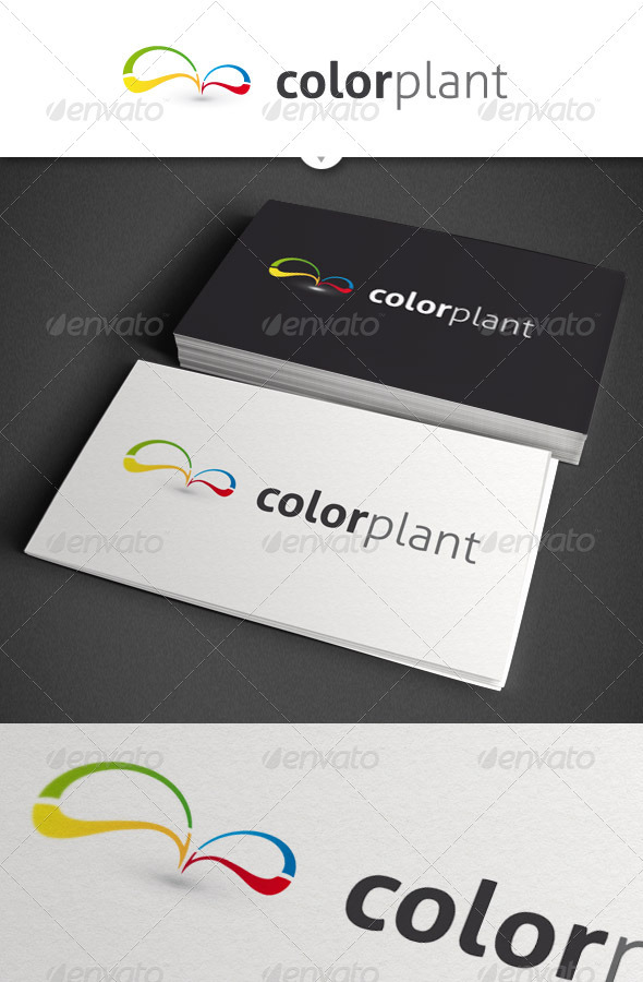 GraphicRiver Color Plant Abstract Logo 1491996