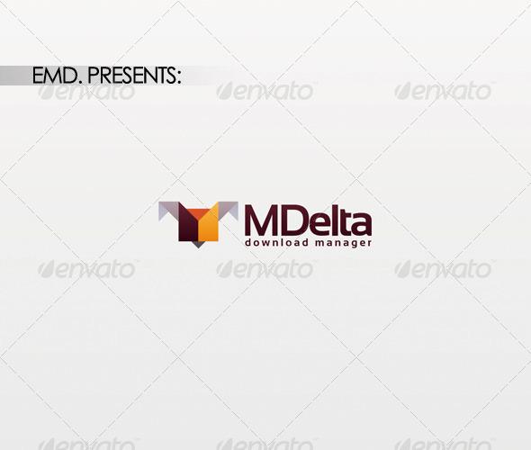 GraphicRiver M Delta Logo 1492689