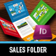 Metro I Sales Folder - GraphicRiver Item for Sale