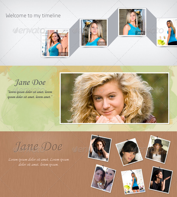 GraphicRiver Facebook Timeline Covers Set 1 1497598