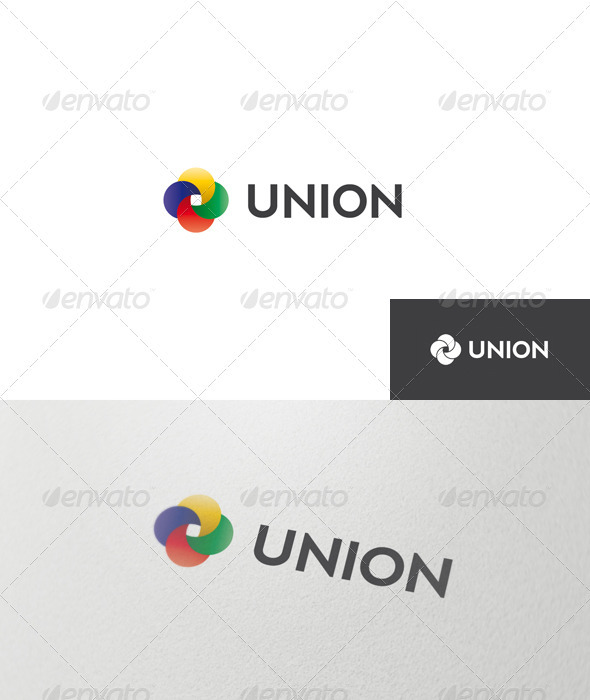 GraphicRiver Abstract Union Logo 1498238