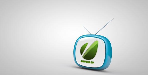 VideoHive Bouncing TV Logo Reveal 1498597
