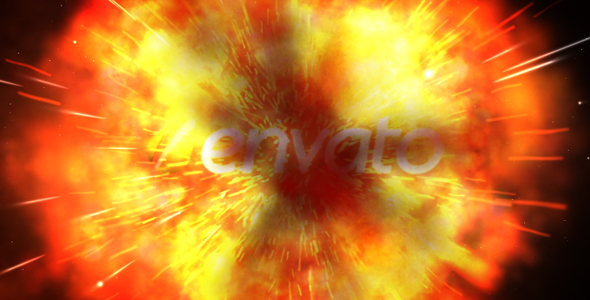 After Effects Project - VideoHive Blow Up Logo Reveal 177185