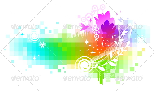 GraphicRiver Abstract Colorful Vector Background 1500423