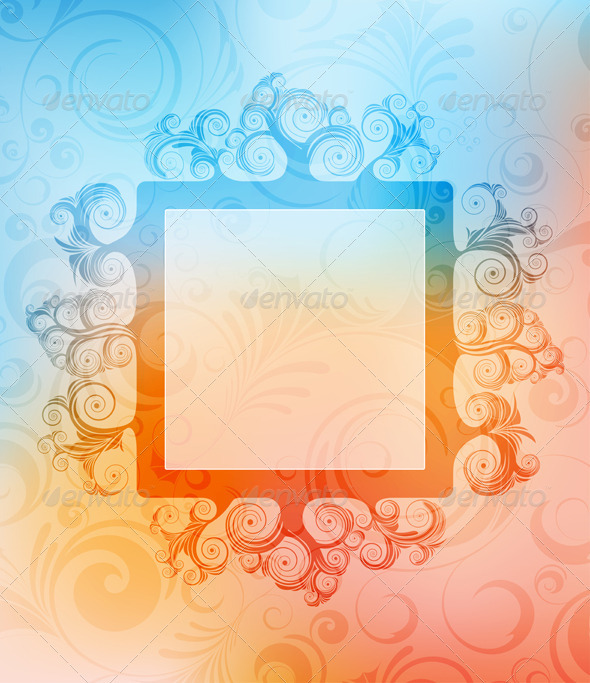 Graphic River Abstract background Vectors -  Decorative  Backgrounds 1500773