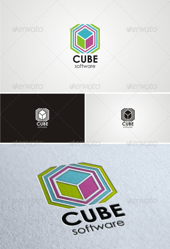 GraphicRiver Cube Software 1498258
