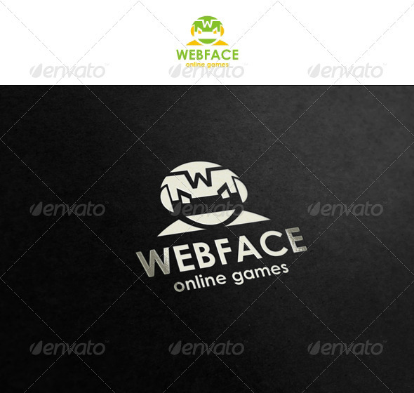 GraphicRiver WebFace Illustrative Logo for Your Business 1501287
