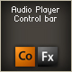 Audio Player Control Bar Component - ActiveDen Item for Sale