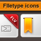 FIletype icons - GraphicRiver Item for Sale